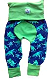 Better Bee Cloth Diapers Maxaloones, Grow with Me Pants, Diaper Pants, Baby Pants,Dinosaurs, Size:Small