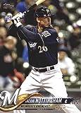 2018 Topps Update #US6 Jacob Nottingham RC Rookie Milwaukee Brewers MLB Baseball Trading Card