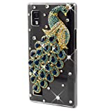 Brillante Crystal Bling Diamante Funda Carcasa para LG Optimus L9 P760 10#