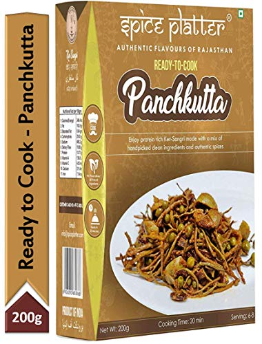 Spice Platter Ready-to-Cook Ker-Sangri/Panchkutta
