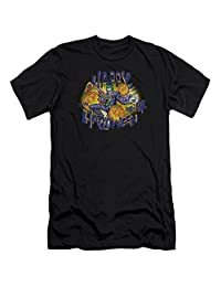 Batman Ha Ha Halloween Mens Premium Slim Fit Shirt