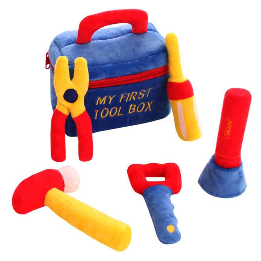 SHILOH Baby Fill and Spill Girl Pretend Play Tool Kit Toolkit Bag Birthday Gift Blue  ブルー B01NCVP7XG