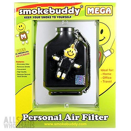 Smoke Buddy Bundle - Black Mega, Original and Junior