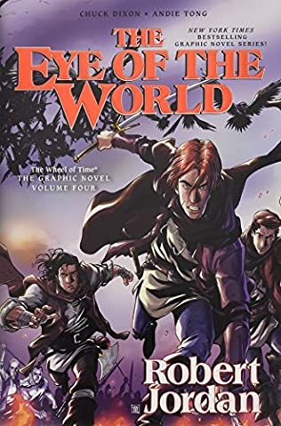 book cover of The Eye of the World: The Graphic Novel Volume Four
