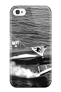Christmas Gifts 4311107K98686553 Ultra Slim Fit Hard Case Cover Specially Made For Iphone 4/4s- Aircraft