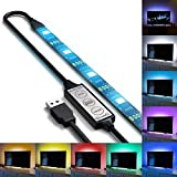 TV Back Light RGB Color Changing Waterproof Strong Adhesive LED USB Strip Light TV Lighting(2M 3key online control)