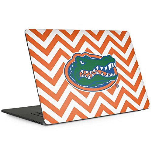 Skinit Florida Gators Chevron Print MacBook Pro 15-inch with Touch Bar (2016-18) Skin - Officially Licensed College Laptop Decal - Ultra Thin, Lightweight Vinyl Decal Protection