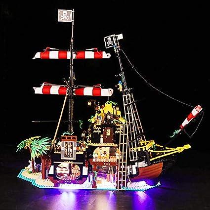 LICHT-KIT FÜR LEGO 21322 PIRATEN VON BARRACUDA BAY LEGO Ideas Lighting 21322