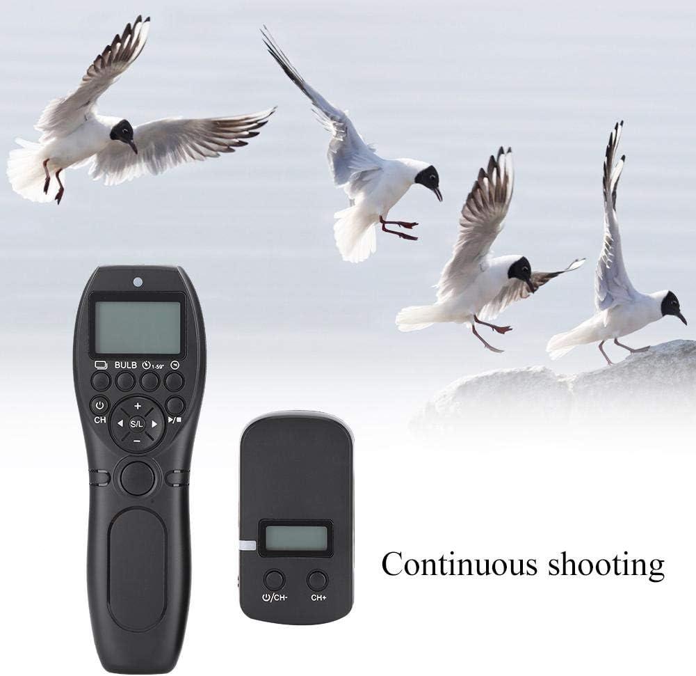 Topiky FSK 2.4G Temporizador inal/ámbrico C/ámara Disparador Control Remoto para Nikon Z6 Z7 D7500 D750 D7200 D7100 D7000 D610 D600 D5600 D5500 D5300 D5200 D5100 D5000 D3300 D3200 etc.