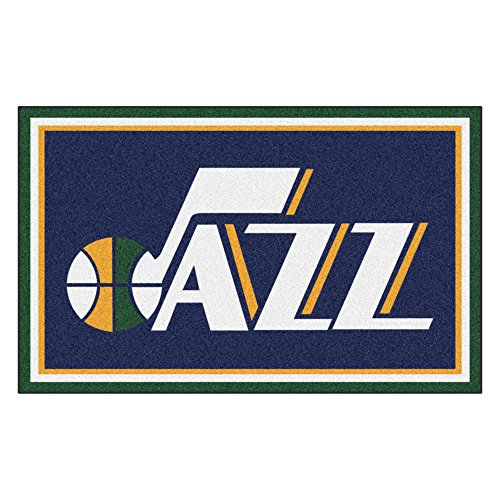 FANMATS 20446 44''x71'' Team Color NBA - Utah Jazz Rug by Fanmats