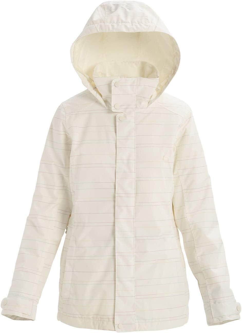 Stout Weiß spacedye M Burton Damen Snowboard Jacke Jet Set Jacket
