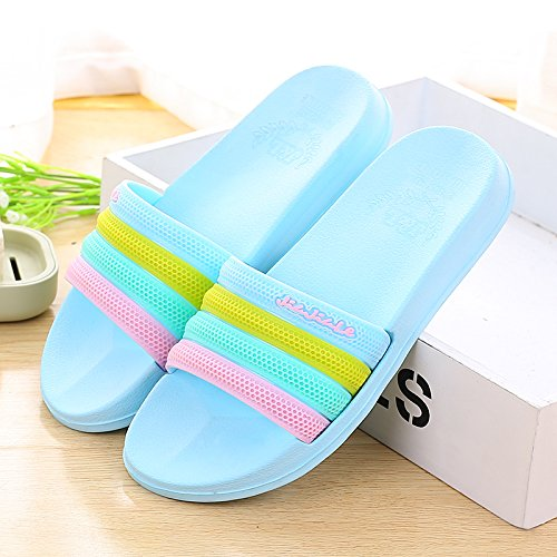 40 Rojo yuca de azul zapatillas de baño 40 Verano color H7qwM