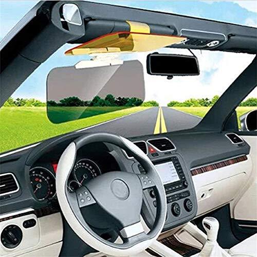 1 Pack 2 in 1 Automobile Visor Extender Sun Anti-UV Blocker Non Glare Anti-Dazzle Sunshade Mirror Goggles Shield for Driving Goggles MaiSTAR Tech Car Day and Night Anti-Glare Visor