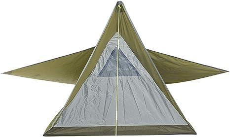 CATRP Marca Triángulo Carpa para Camping 1-2 Persona ...