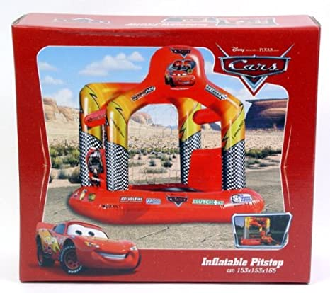 Mondo 16246 - Castillo hinchable, diseño de Cars: Amazon.es ...