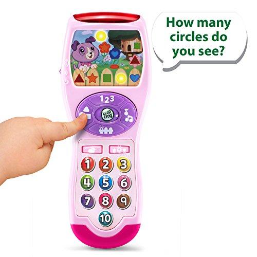 51U7oCnFQRL - LeapFrog Violet's Learning Lights Remote, Pink