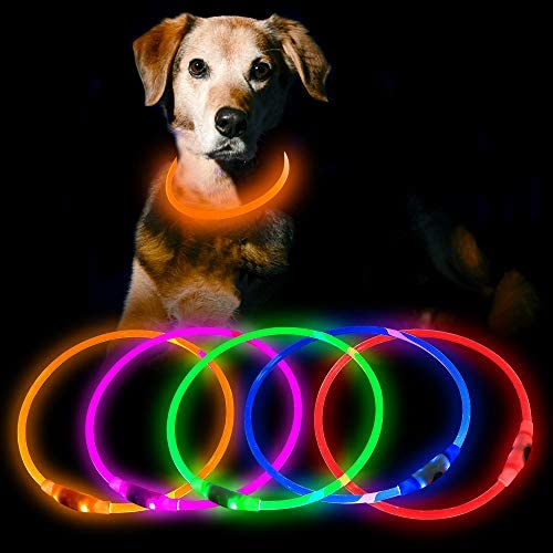 HiGuard Rechargeable Glowing Collars Necklace product image
