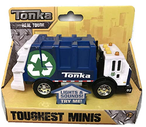 Tonka Toughest Minis Recycling Garbage Truck - Blue