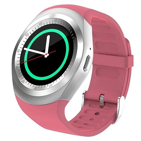 Amazon.com: VANPOWER Smart Y1 Bluetooth V3.0 Watch Round ...