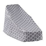 MS HOME Trellis Patterned Patio Chaise Lounge Cover w/Metal Grommets - Durable, Indoor, Outdoor - 76'' L x 27'' W x 33'' H