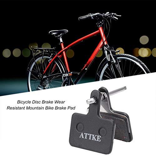 fghdf Desgaste de la Bicicleta del Freno de Disco Resistente Bicicleta de monta/ña Pastillas de Freno adecuados para Shimano