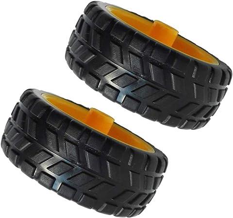 Reifen Reifen Gummirad Roboter Auto Zubehör Smart Car Reifen Chassis Räder