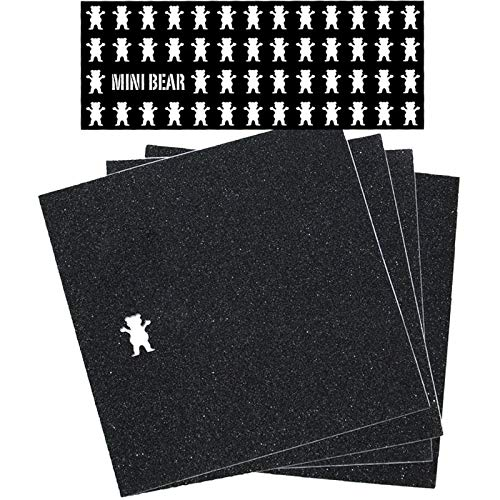 Grizzly Grip Tape Mini Bear Squares Pack - 9 x 33 by Grizzly
