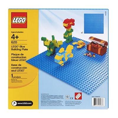 LEGO Blue Building Plate (10