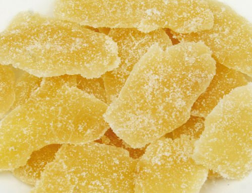 Ginger- Dried-Crystallized-Ginger-Sliced (1LB)