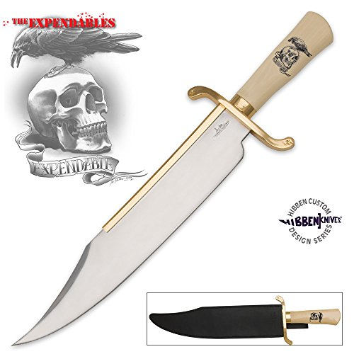 United Cutlery GH5017 Gil Hibben Expendables Bowie Knife with Sheath ()
