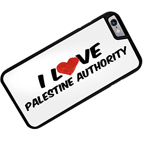 Rubber Case for iphone 6 I Love Palestine Authority - Neonblond