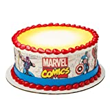 Marvel Avengers Comics Superhero Edible Cake Border - Set of 3 Strips