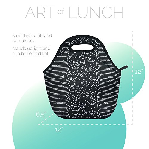 f2efd2af21f0 ART OF LUNCH Insulated Neoprene Lunch Bag for Women, Men and ...