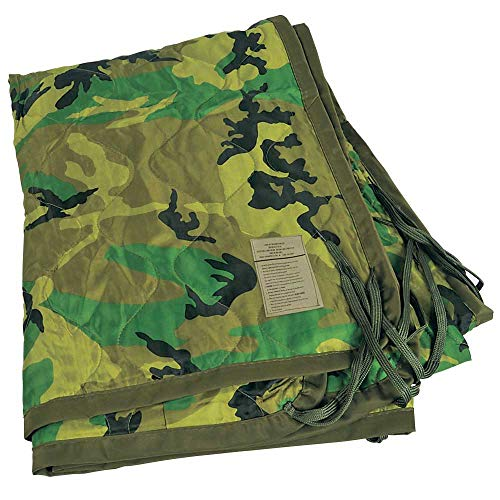Medals of America Military Woodland Poncho Liner -