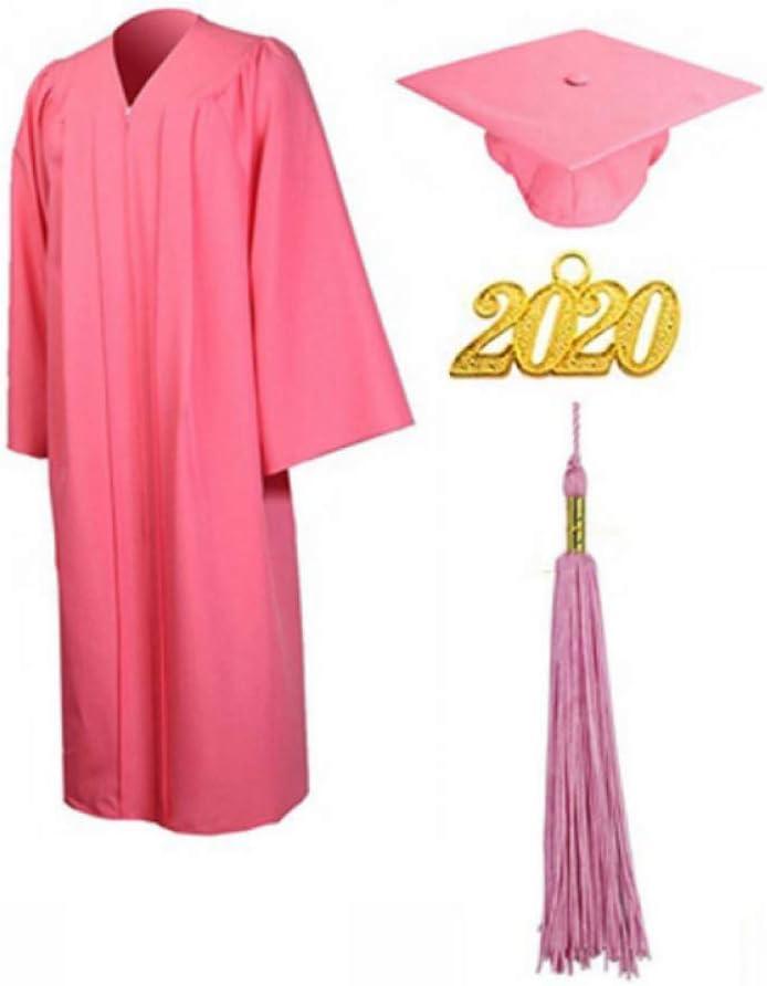 Toga De Graduación Vestido De La Borla Del Casquillo 2020 Adulto ...