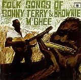 1958 Folk Songs Of Sonny Terry  and  Brownie McGhee Vinyl LP Record