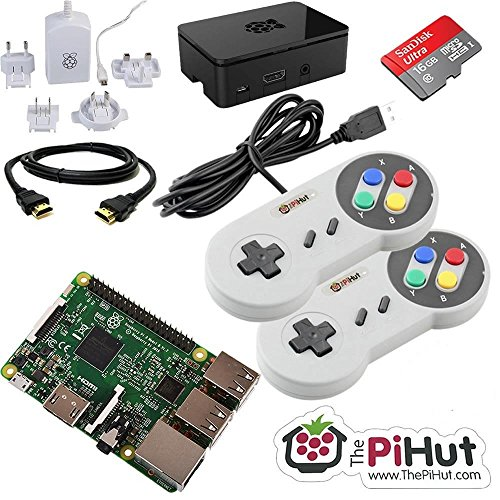 ThePiHut Raspberry Pi 3 Retro Gaming Bundle