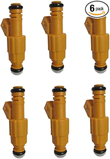 Set of 1 Fuel Injectors For JEEP 87-98 4.0L Wrangler Comanche REPLACE 0280155710
