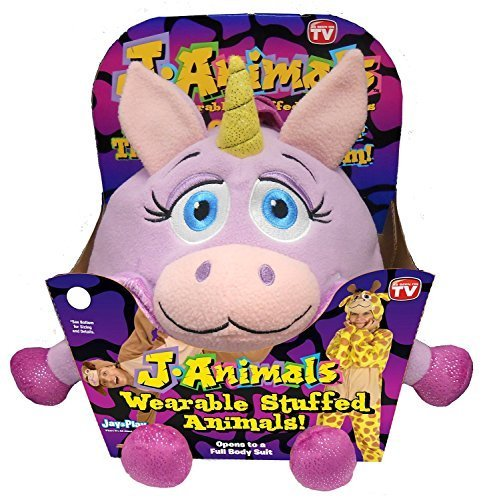 [Jay At Play Janimals Unicorn Size Large] (Animal That Starts With J)