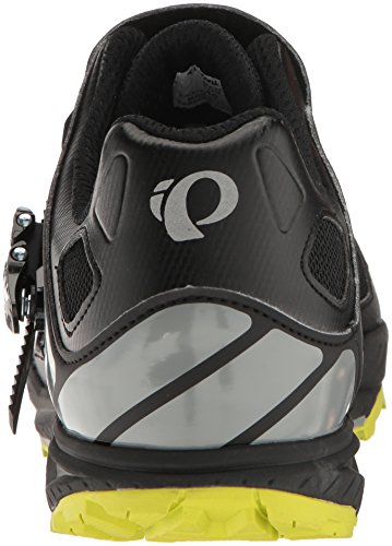 Pearl Izumi Men's X-Alp Enduro v5 Cycling Shoe, Black/Monument Grey, 42 EU/8.5 D US