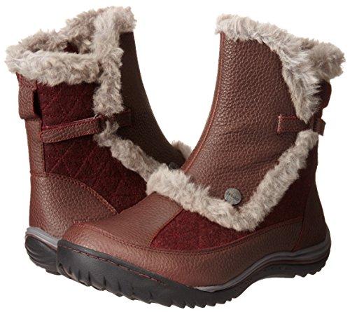 Jambu Women's Eskimo Snow Boot, Burgundy, 7.5 M US by Jambu (Image #6)