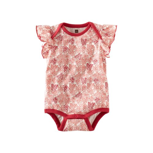 Tea Collection Baby Girls' Kupu Kupu Bodysuit