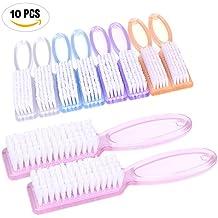 Yesker Pro Nail Scrub Brushes 10 pcs