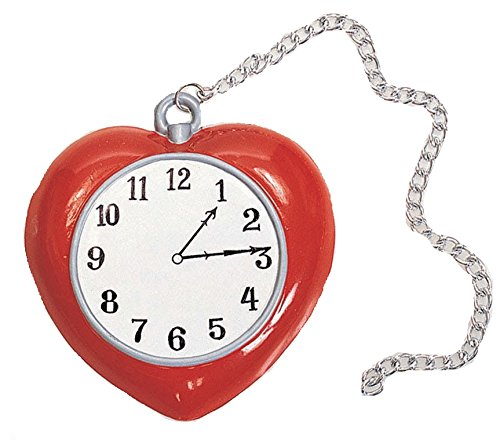 Wizard of Oz Tin Man Clock (Toy) Officially Licensed Wizard of Oz ACCESSORY (Tin Wizard Man Of Oz Heart)