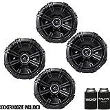 Best Kicker Car Door Speakers - Kicker DSC670 6.75-Inch (165mm) Coaxial Speakers, 4-Ohm bundle Review