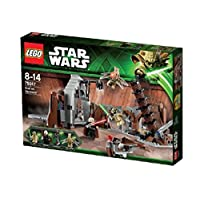 LEGO Star Wars Duel on Geonosis with Jedi Minifigures and Lightsabers | 75017