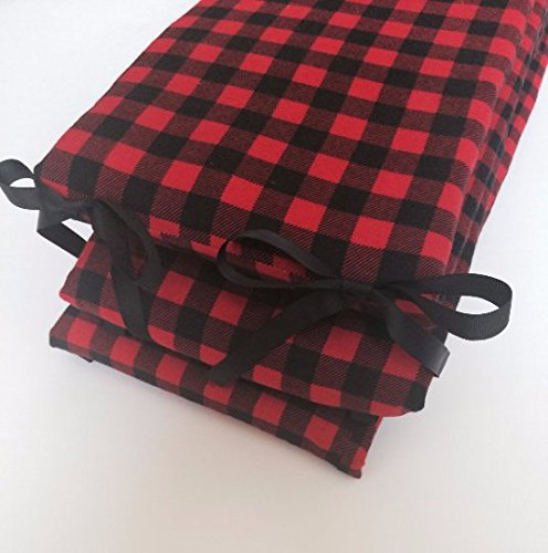 Crib Bumper - Buffalo Plaid by Lullabies and Lollipops