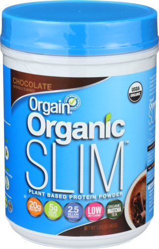 Orgain Organic Slim Weight Loss Powder, Chocolate, 1.02 Pound, 1 Count, Vegan, Non-GMO, Gluten Free