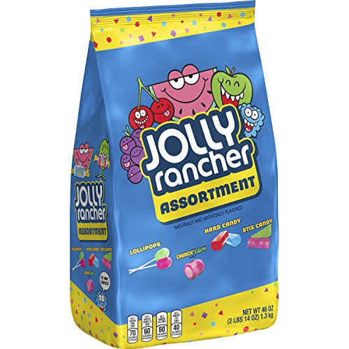 JOLLY RANCHER Candy Assortment, 46 Ounce (Halloween Hard Candy)