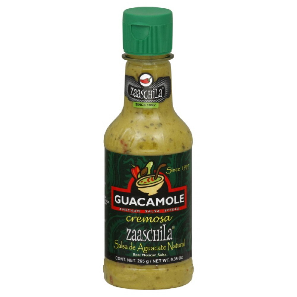 Zaaschilla Creamy Salsa Spread Guacamole, 9.35-Ounce (Pack of 6): Amazon.com: Grocery & Gourmet Food
